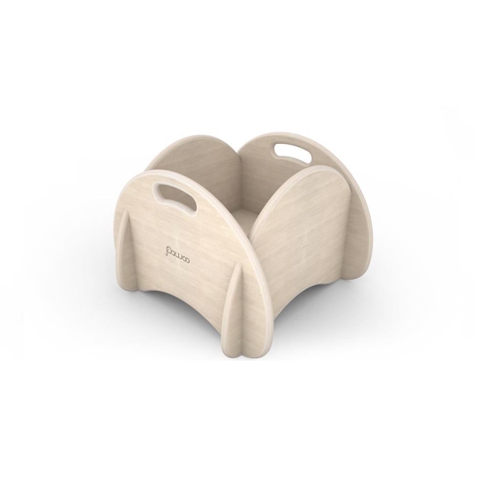 box portagiochi di design in legno