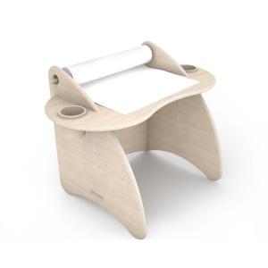 scrivania attrezzata di design in legno per bambin