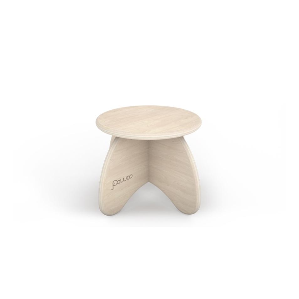 sgabello design in legno per bambini