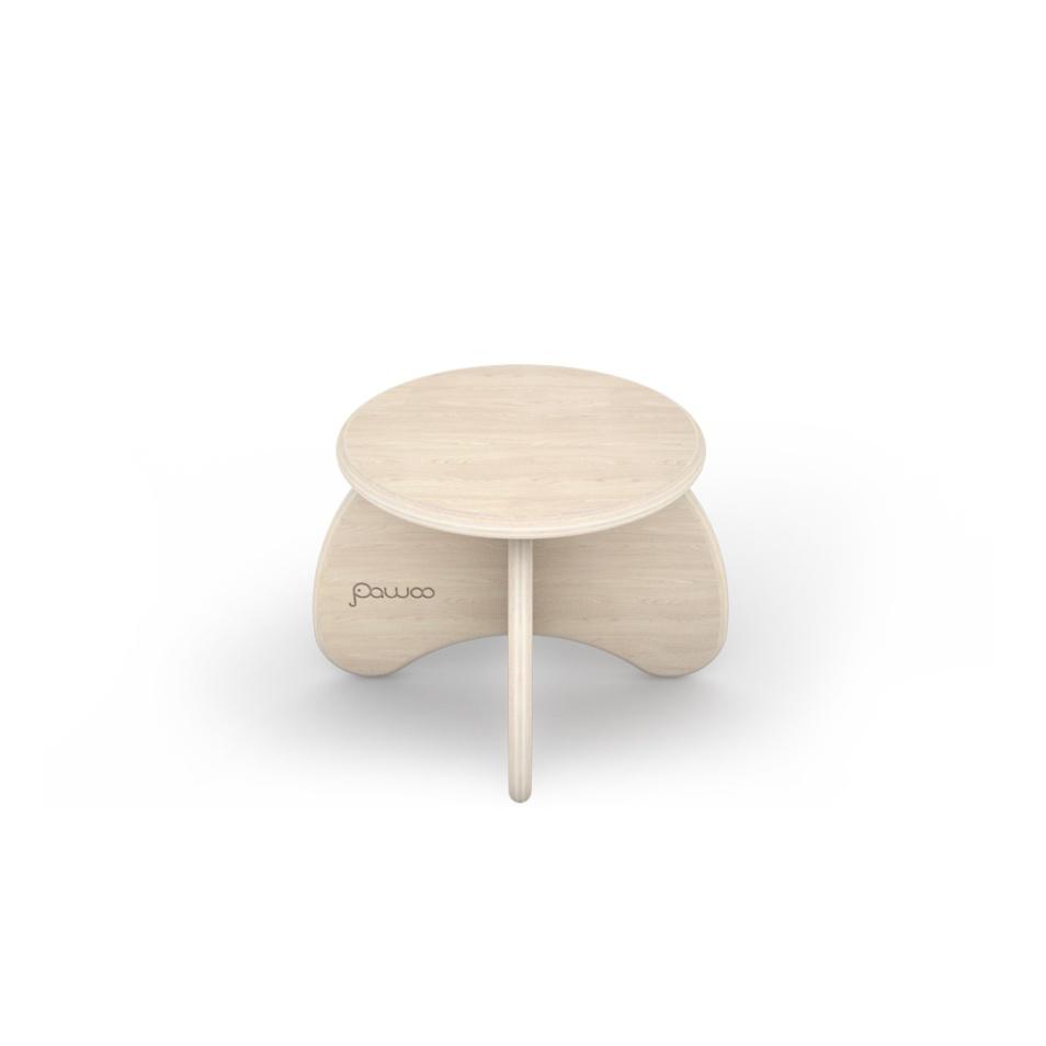 sgabello di design in legno per bambini