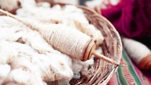 fuso per filare la lana