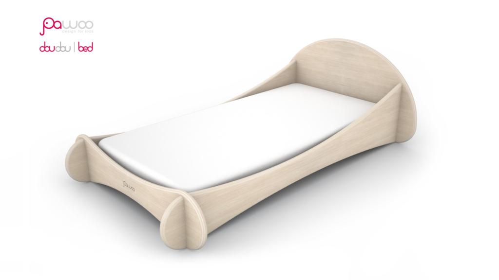 lettino montessori pawoo in legno