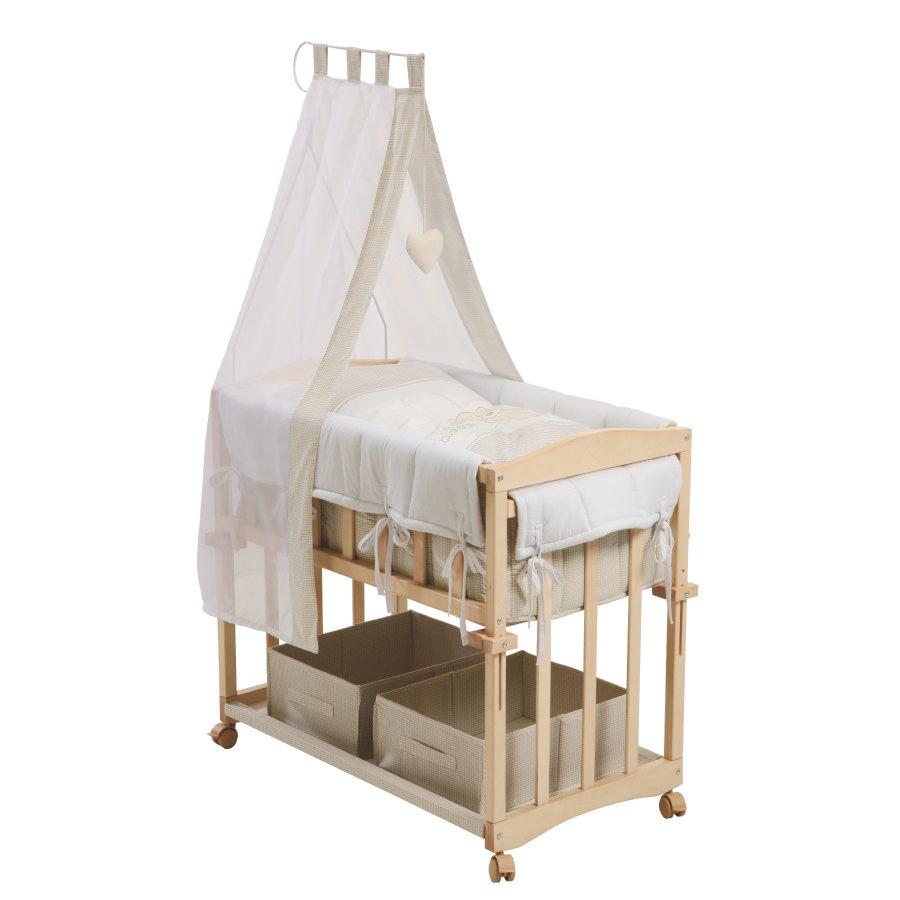 culla di legno per neonati
