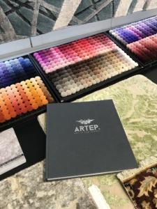 cartella campioni colori tappeti