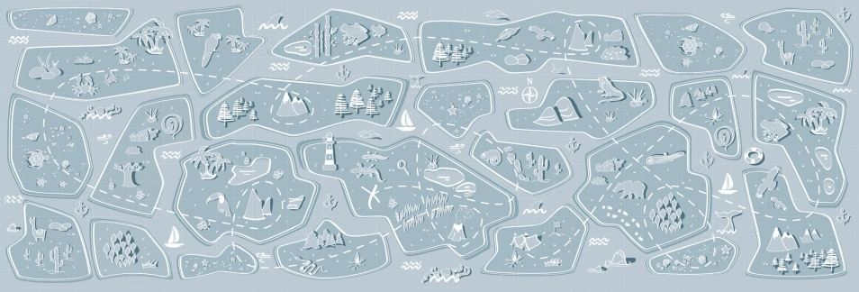 carta da parati panoramica per bambini