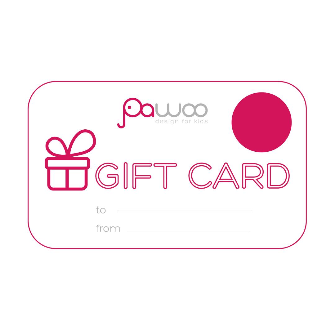 PAWOO GIFT CARD